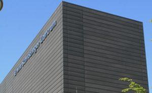 Płyty fasadowe na budynku