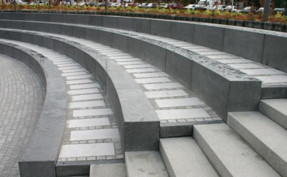 Betonowe ławy amfiteatralne | DASAG