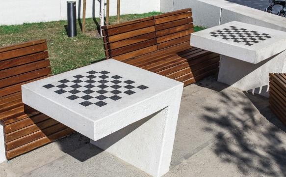 Szachy betonowe | Elementy dekoracyjne | DASAG